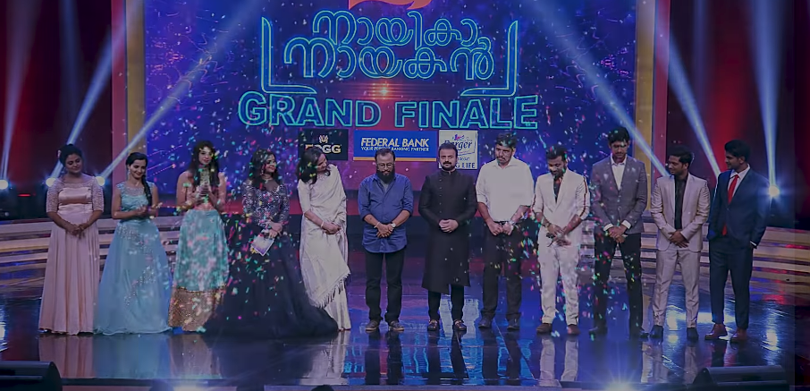 Grand Finale of Nayika Nayakan - winners with Judges and anchors | Mazhavil Manorama acting talent show