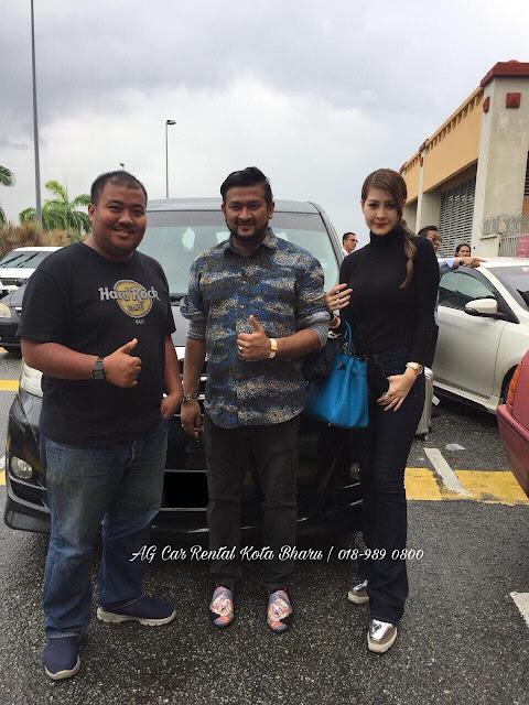 Artis Femes Eina Azman Sewa Kereta Alphard AG Car Rental di Kota Bharu