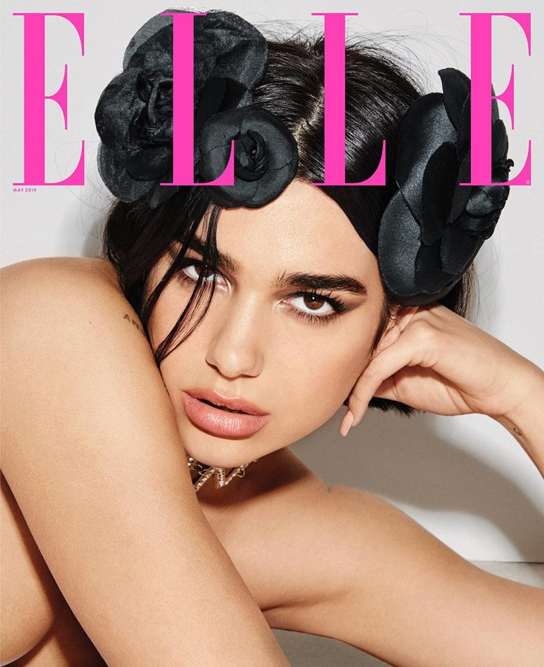 Dua Lipa for ELLE US May 2019