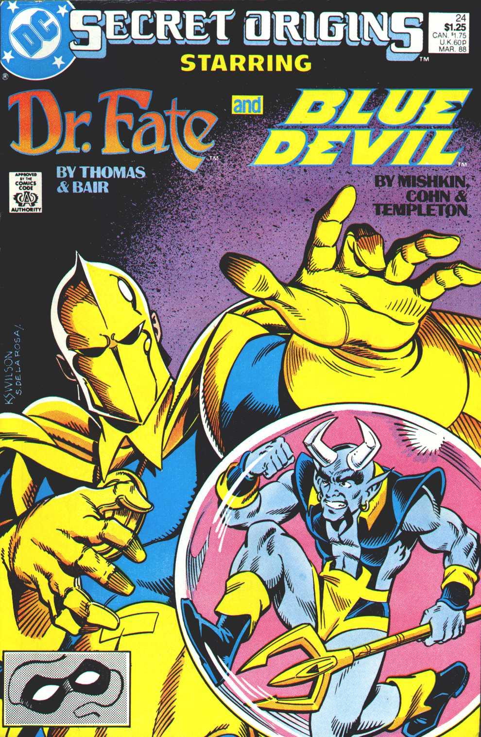 Read online Secret Origins (1986) comic -  Issue #24 - 1