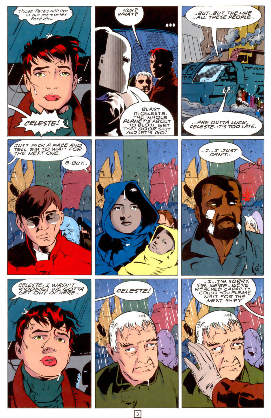 Legion of Super-Heroes (1989) 39 Page 3