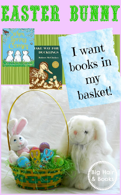 Easter Bunny please put books in my basket !!!