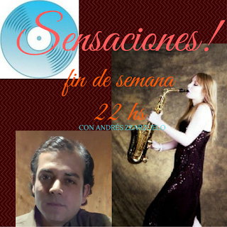 sensaciones es un programa conducido por Andrés Zarzuelo y se emite en Cosmos Fm San Juan