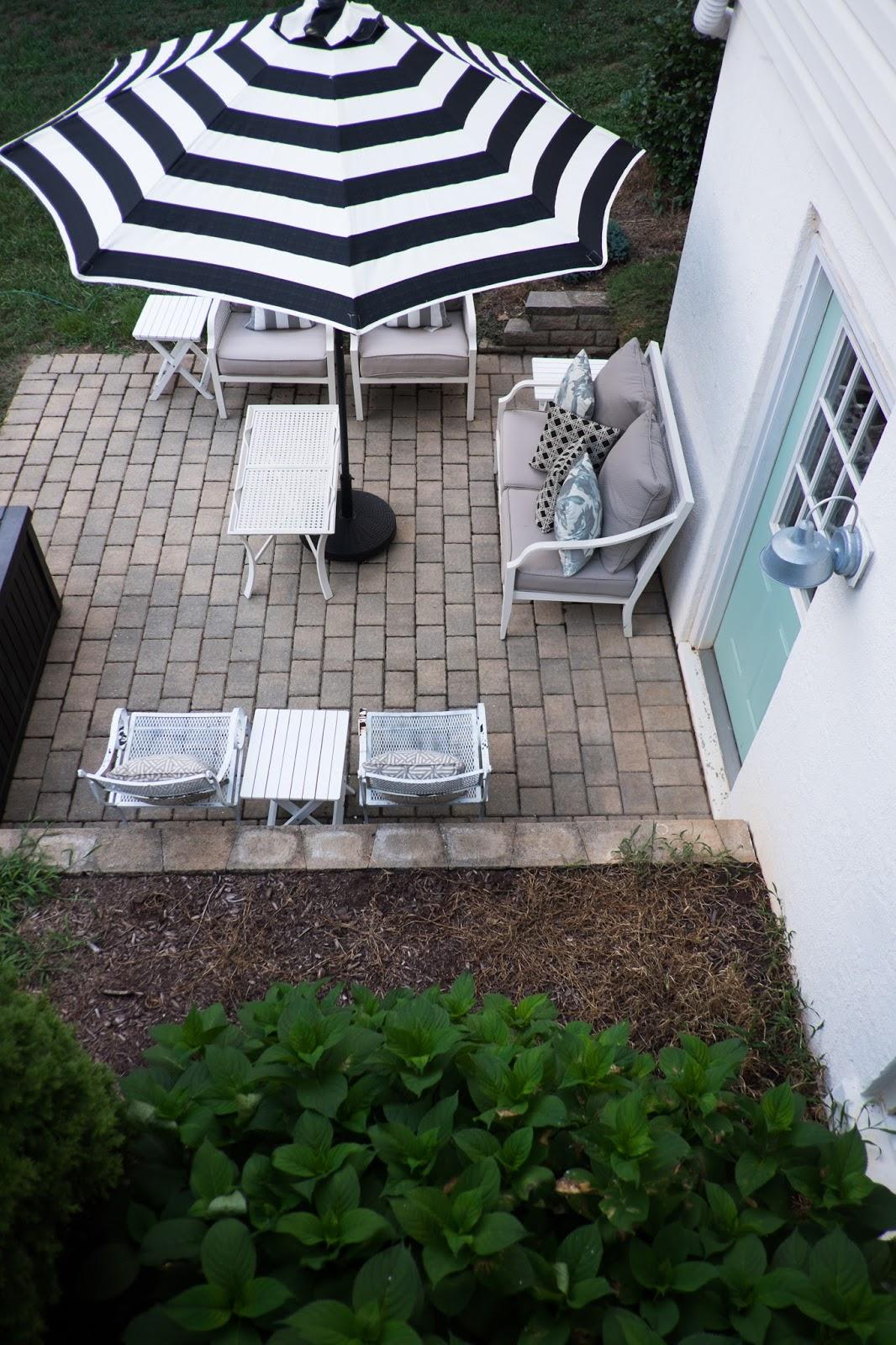 25b156c76b Domestic Fashionista: Backyard Patio Umbrellas
