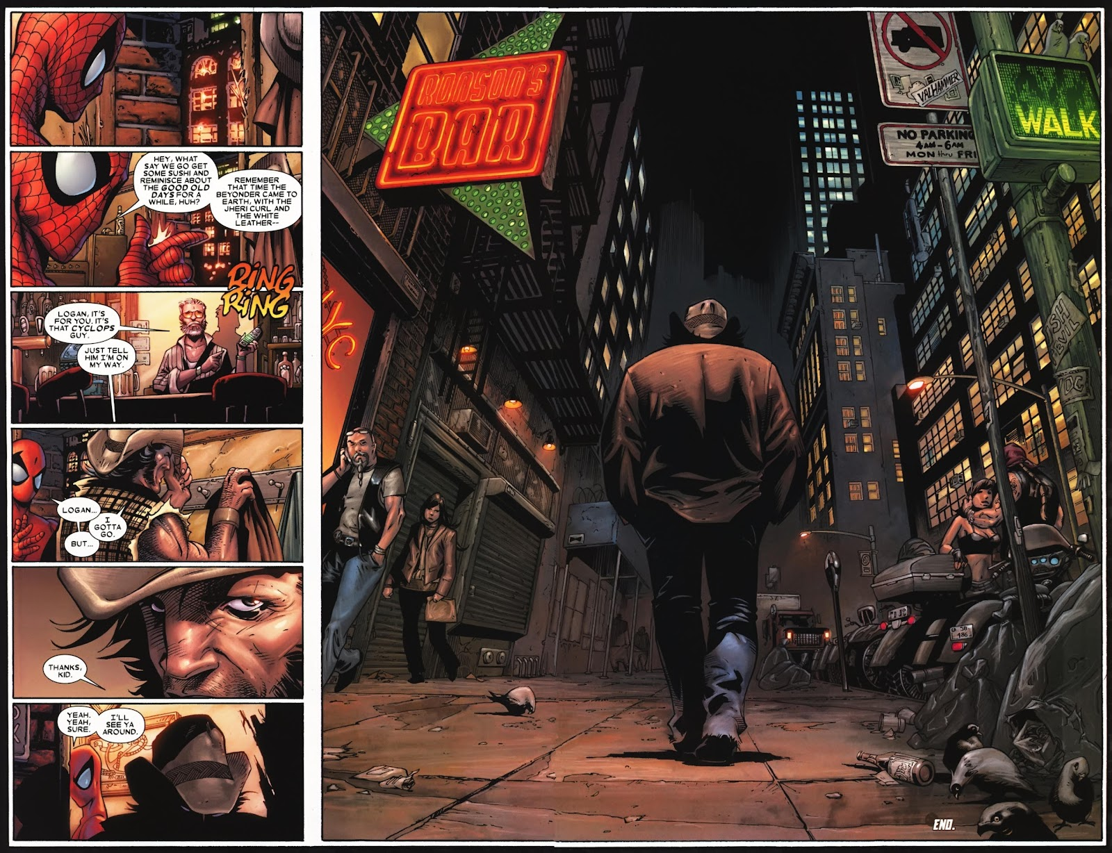 Read online Wolverine (2003) comic -  Issue #74 - 22