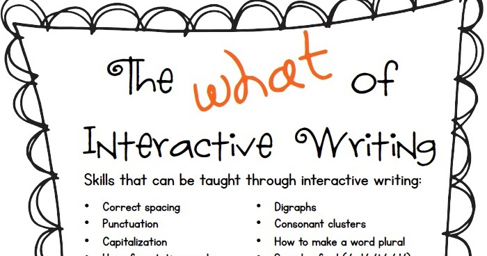 Who's Who and Who's New: January Ideas for Interactive Writing