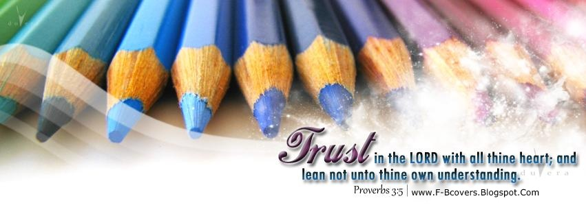 Covers: Trust In The Lord. - Christian Facebook Cover Photos.