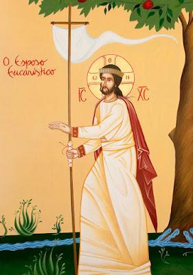 O Esposo Eucarístico - Ícones para grupo de oração, seminário de vida no Espírito Santo e eventos