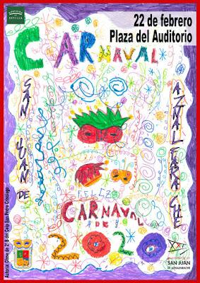 San Juan de Aznalfarache - Carnaval 2020 - Alumnos de 2ºB del CEIP San Pedro Crisólogo