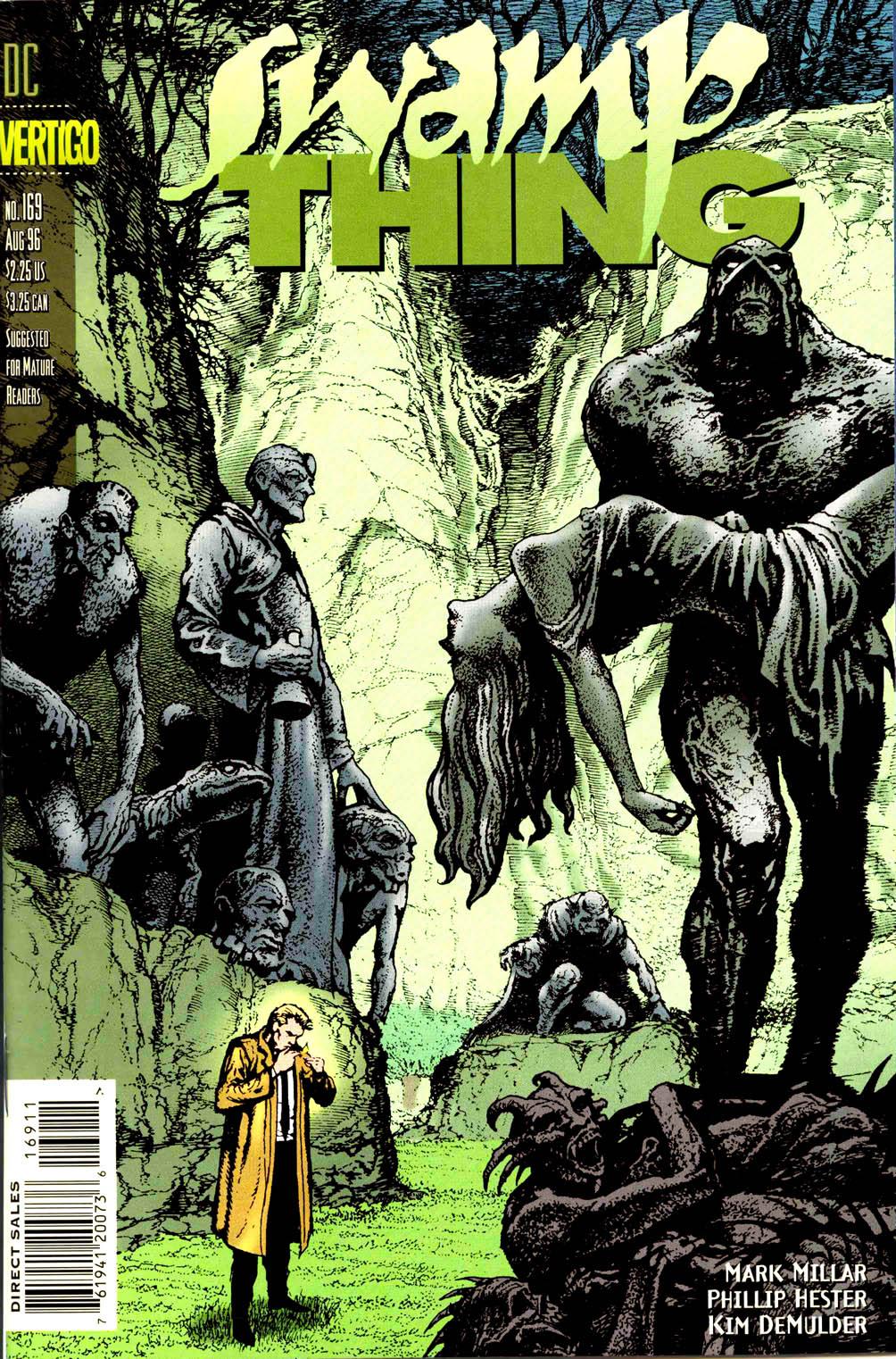 Swamp Thing (1982) #169 #177 - English 1