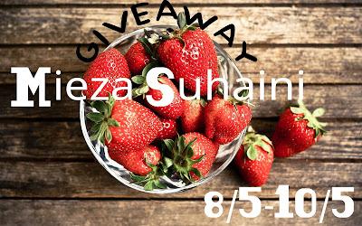 Giveaway FV oleh Mieza Suhaini