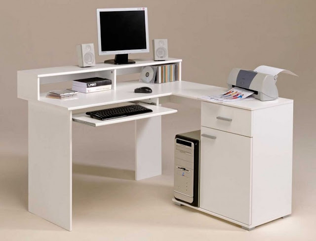 best buy white home office desk Kelowna for sale cheap