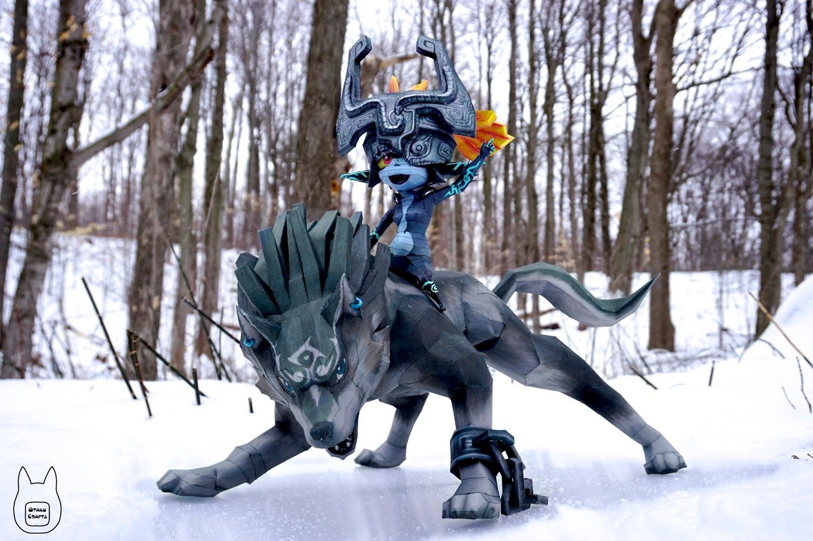 DeviantArt: More Like Midna Papercraft Download by XenonRay
