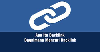 bisa anda simak di artikel ini untuk memahami tentang backlink