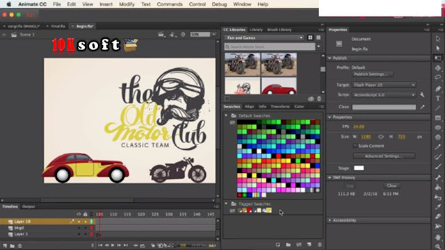 Adobe Animate CC 2017 direct Download link