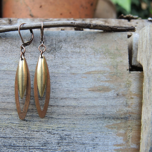 diy earrings - free jewelry tutorial / zelf oorbellen maken