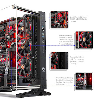 Skytech Supremacy X PLUS Gaming Computer PC Desktop - i7-7700K
