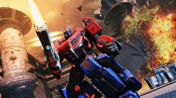 Transformers Fall of Cybertron PC Full Version Screenshot 3