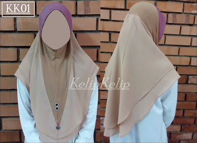 Tudung sarung murah soft awning double layer