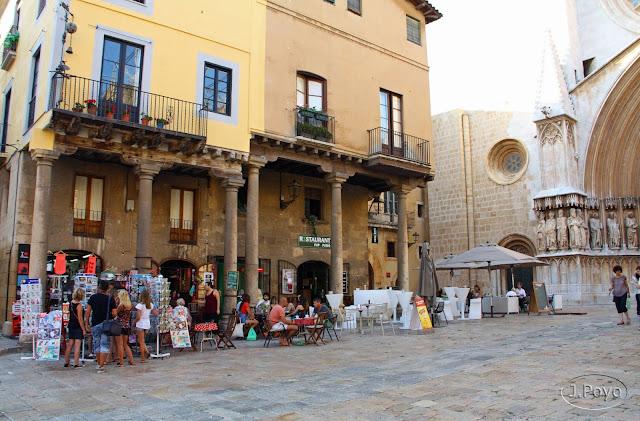 Plaza de la catedral, Tarragona