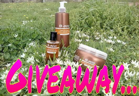 Win a B-app professional set for your hair! It's a Giveaway!