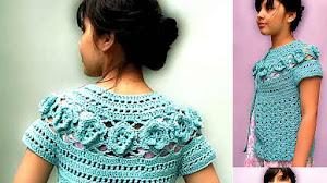 Chaleco para Niñas Tejido a Crochet / Tutorial