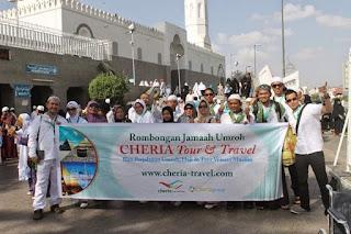 Paket Umroh Paling Menarik Di Cheria Travel