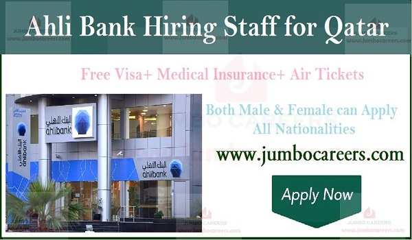 retail banking jobs in qatar