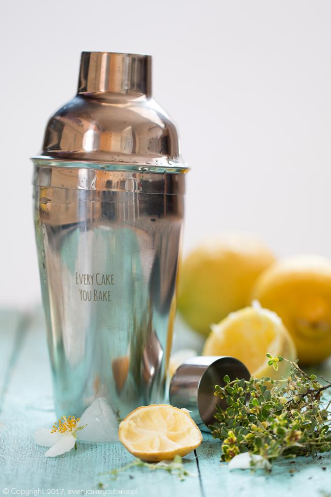 orzeźwiająca lemoniada tymiankowa z wódką