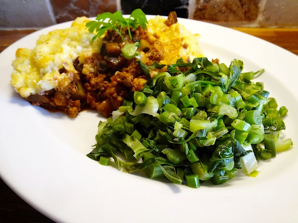 Living in the Ice Age: Turkey Mince 'No Taters' Cottage Pie