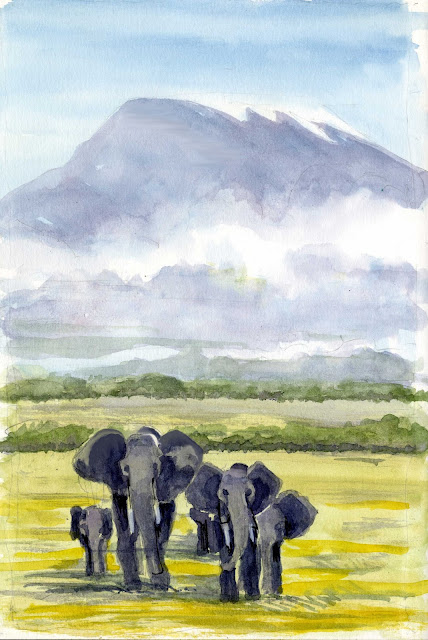 James Richards Sketchbook  Kenya  A Transformative Experience