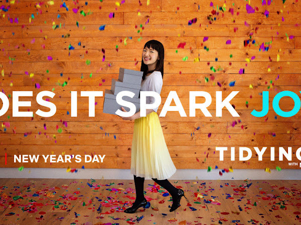 TIDYING UP WITH MARIE KONDO - MY THOUGHTS