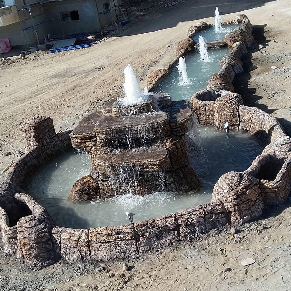 yapay kaya ile havuz yapımı