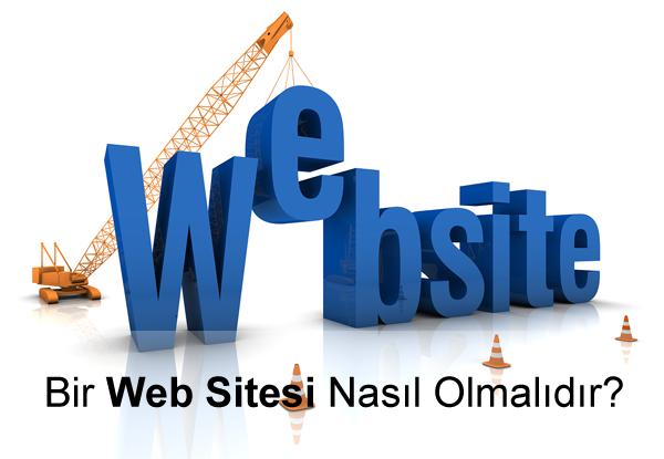 Bir İnternet Sitesinde Bulunması Gerekenler