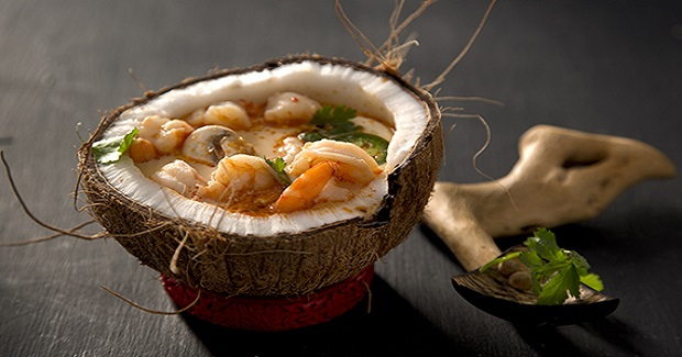 Shrimp Coconut Curry Soup Recipe