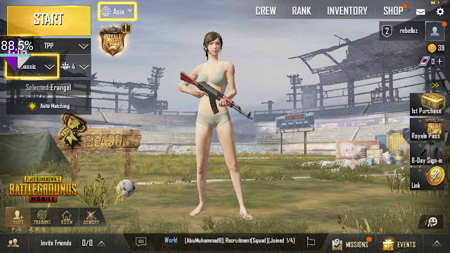 Download Cheat Pubg mod menu android gratis