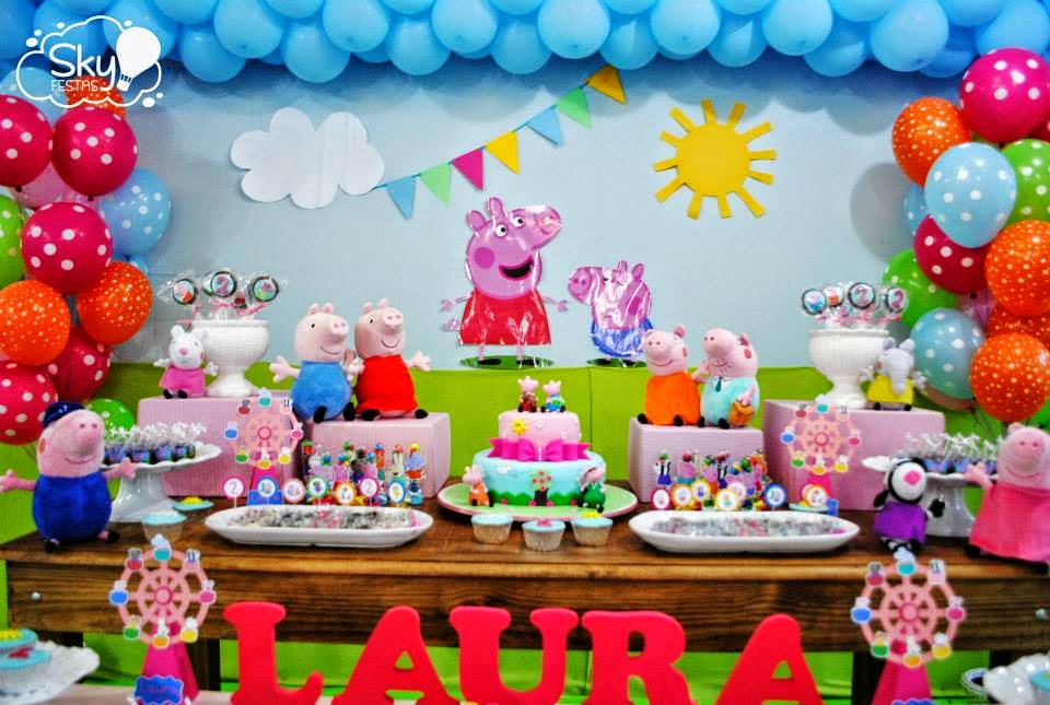 s little pig life peppa celebration supplies decorations party dessert decor celebrations lifes table