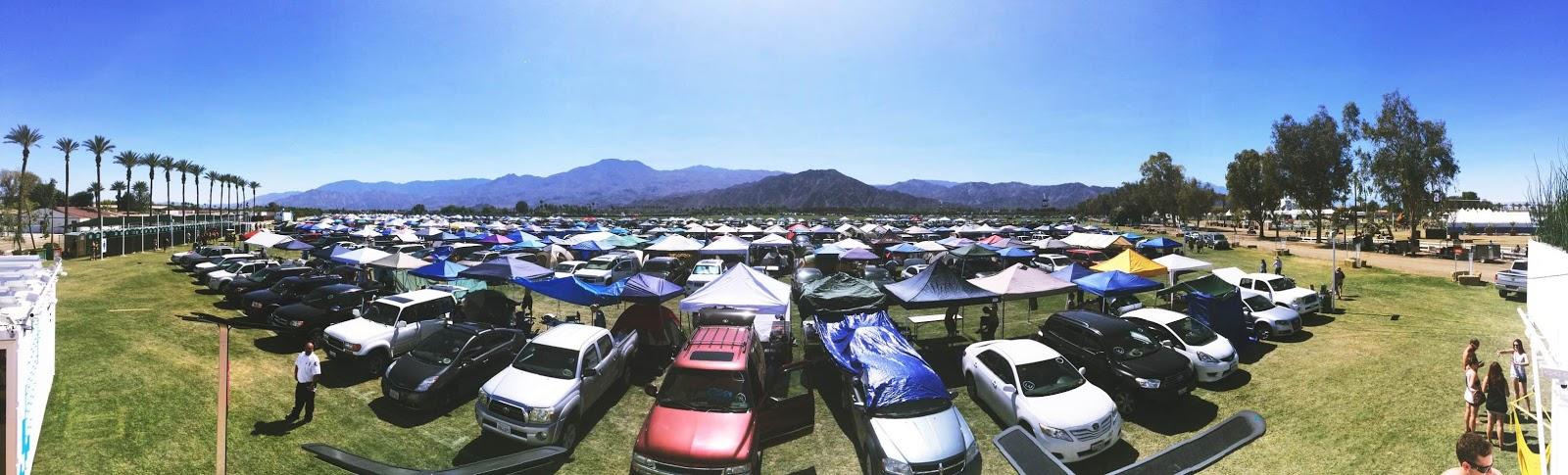 coachella camping
