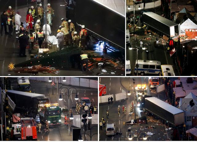 Muçulmano mata 12 pessoas em Berlim e reaviva medo de terrorismo na Europa