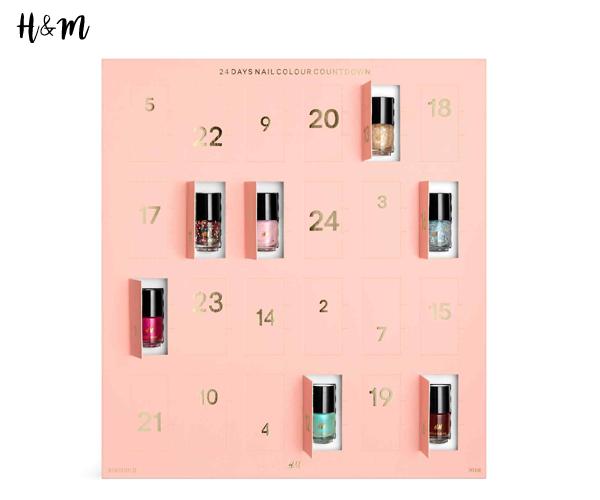 Calendrier de l'Avent Beauté - H&M