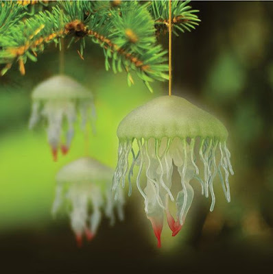 Glow In The Dark Jellyfish Ornament