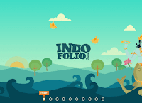 Template Blogger Virtual Card Indo Folio