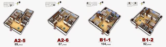 Mặt bằng chung cư số 4 Chính Kinh