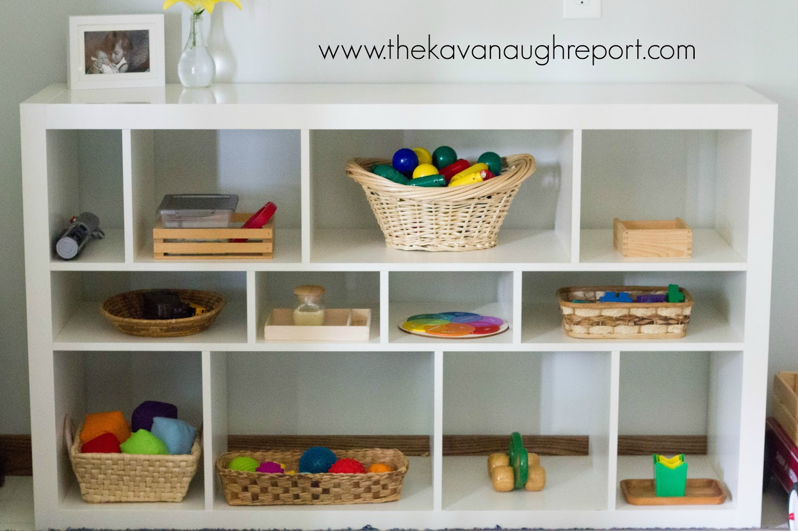 Mixed Age Montessori Play Shelves