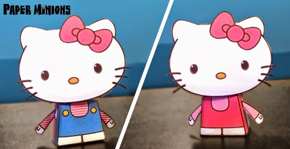 Hello Kitty Free Printable Paper Toys  - Oh My Fiesta! in