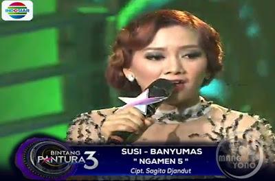 "Susi menyanyikan lagu ""NGAMEN 5′."
