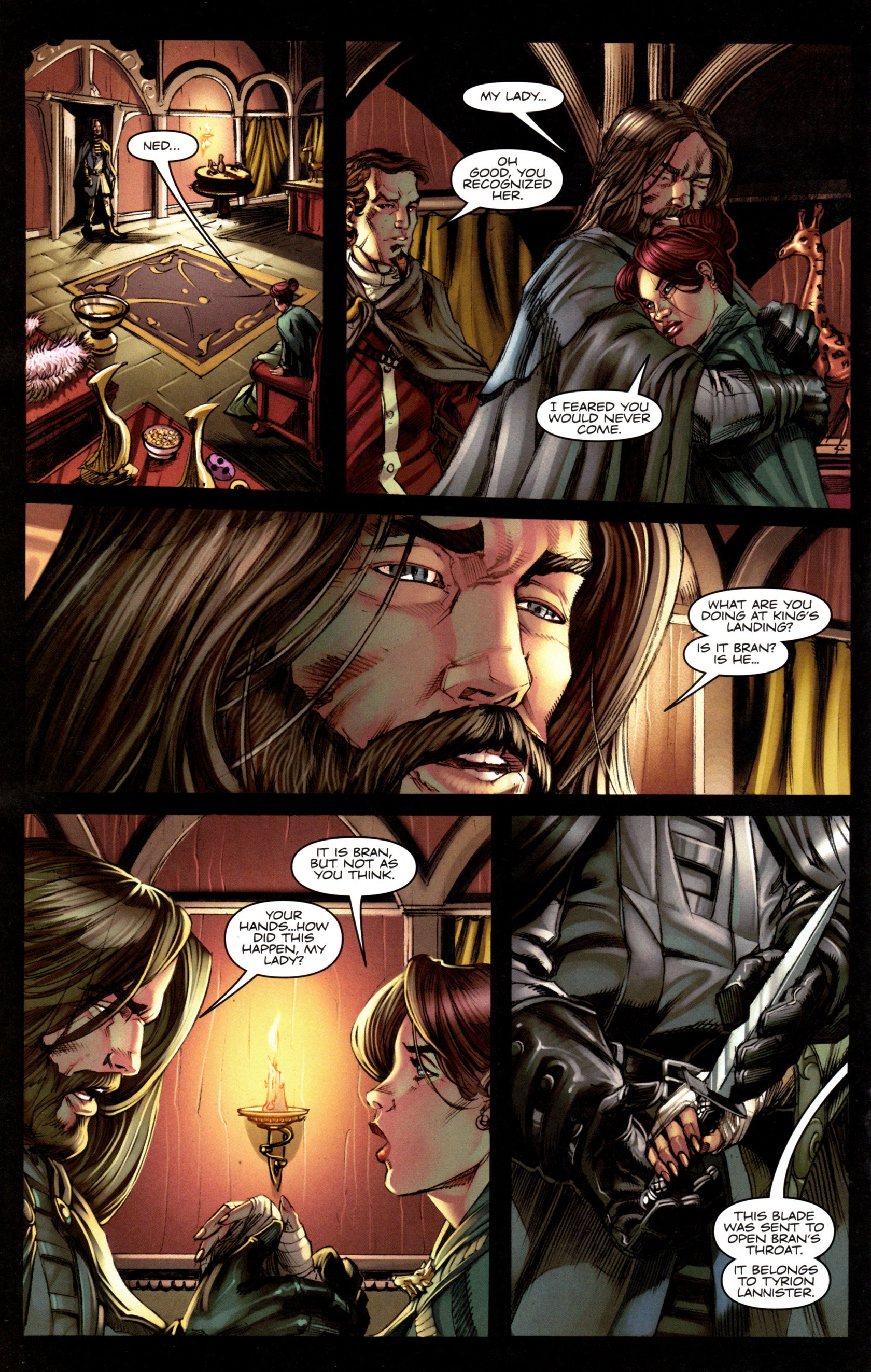 Read online A Game Of Thrones comic -  Issue #6 - 18