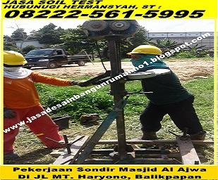 082225615995 Telkomsel Jasa Arsitek Desain Bangun Rab Struktur Sondir Tanah Urus Imb Balikpapan