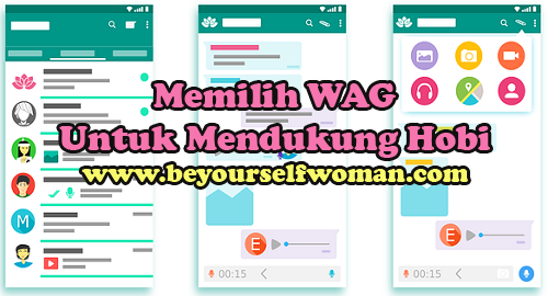 Memilih Whatsapp Group (WAG) Yang Mendukung Hobi