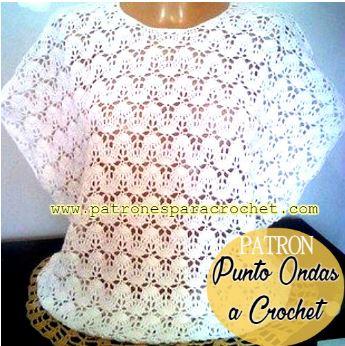 Blusa de mujer para tejer